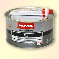 Шпатлёвка с алюминием NOVOL ALU 1,8 кг.