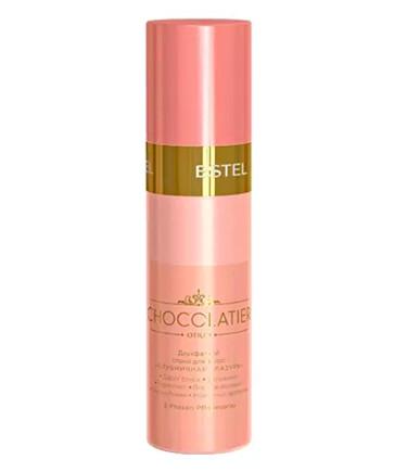 Двофазний спрей для волосся Полунична глазур Estel Chocolatier 200 мл