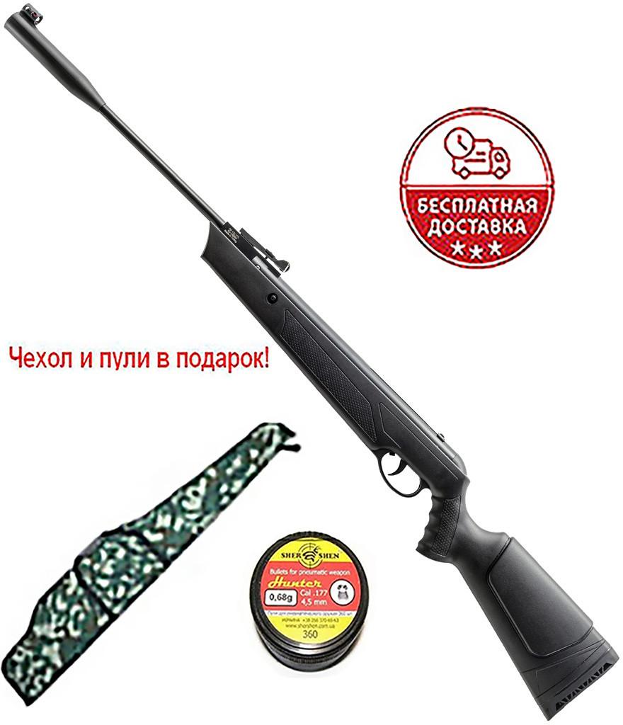 Гвинтівка Ekol Ultimate з газовою пружиною + Чохол і кулі в подарунок