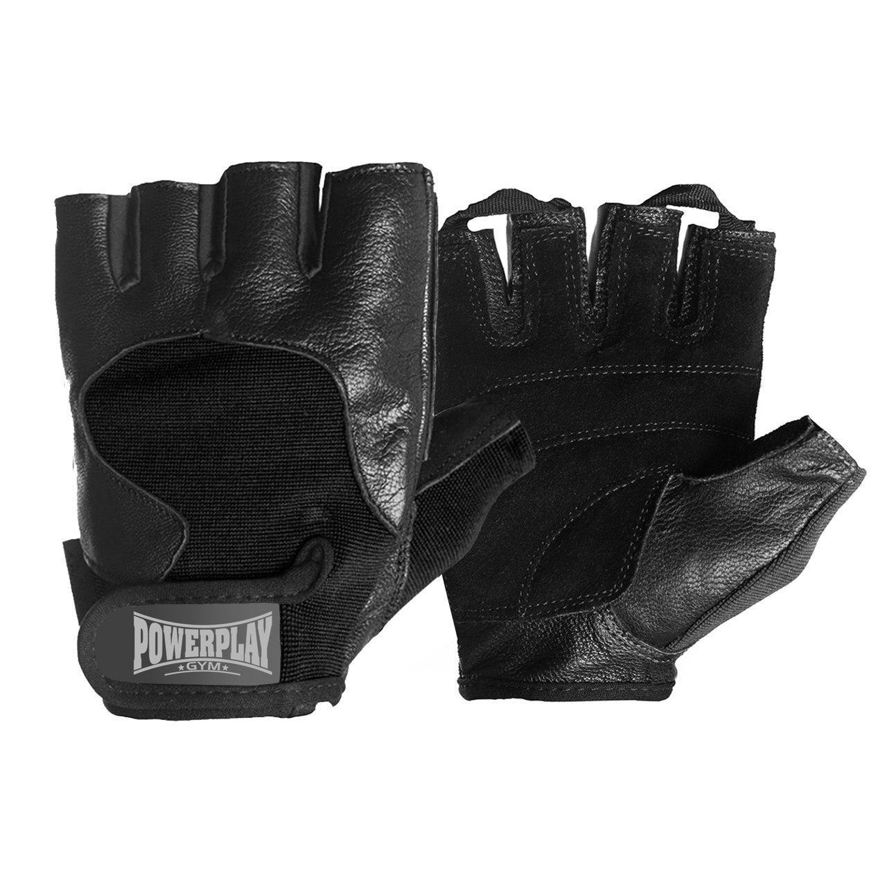 Рукавички для фітнесу PowerPlay 2154 Чорні XL