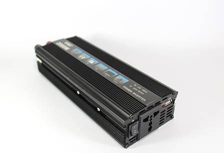 Преобразователь AC/DC 2000W SSK , преобразователь электричества, инвертор напряжения 24V220V PR5, фото 2