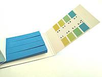 Лакмусовая бумага (рН-тест) 3.8 - 5.4рН  80 полосок, фото 1