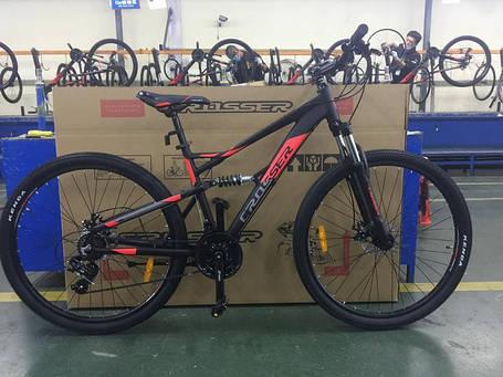 Горный велосипед Crosser Stanley 26 размер рамы 17 черный, фото 2