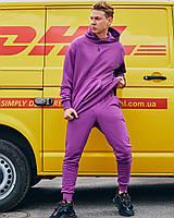 Спортивный костюм унисекс Огонь Пушка Classic цвет фиолетовый