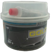 Шпатлёвка с алюминием GOLD CAR ALU 0,5 кг