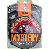 Набор для подключения усилителя MYSTERY MAK 4.04