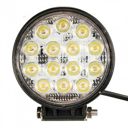 LED Фара рабочего света 42W / 60 L0102 F (Poland), фото 2