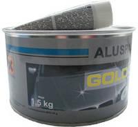 Шпатлёвка с алюминием GOLD CAR ALU 1,8 кг