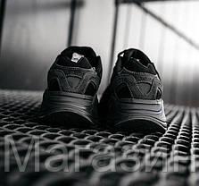 Женские кроссовки adidas Yeezy 700 V2 Vanta Black FU6684 Адидас Изи Буст 700 черные Ванта, фото 3