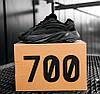 Женские кроссовки adidas Yeezy 700 V2 Vanta Black FU6684 Адидас Изи Буст 700 черные Ванта, фото 5