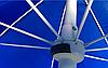 Зонт пляжный 2 метра и садовый антиветер (клапан) с регулировкой наклона на 8 спиц, фото 3