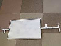 Задвижка,вертушка для дымоходов,металлическая, поворотная.Размер 27х39см.