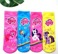 Детские 3D носки высокие для девочек Литтл Пони