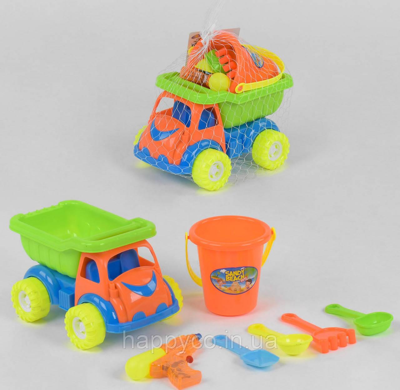 Машинка с пасочками, детский набор для песка