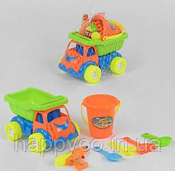 Песочный набор Машинка с пасочками, детский набор для песка