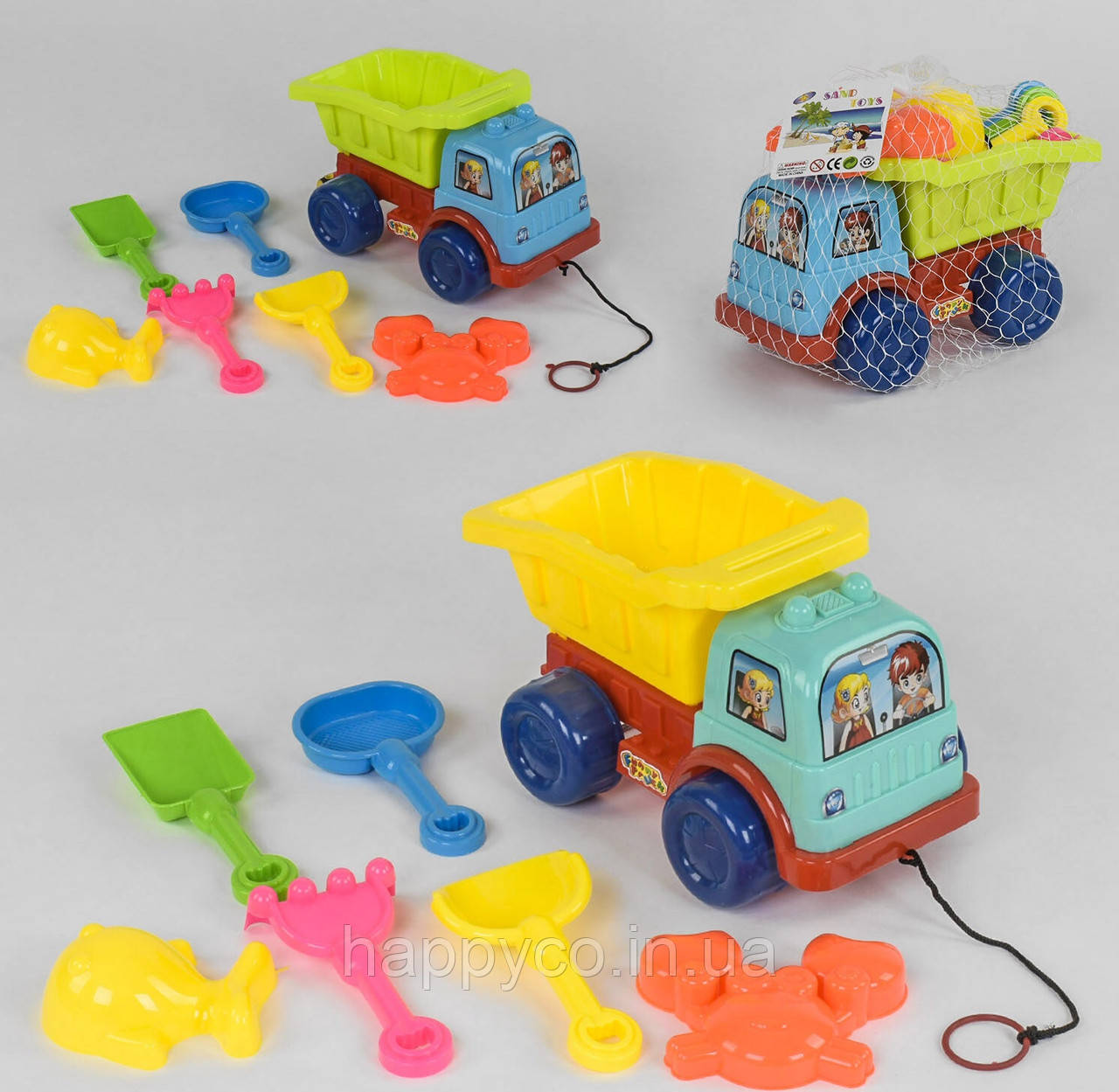 Песочный набор Машинка с пасочками