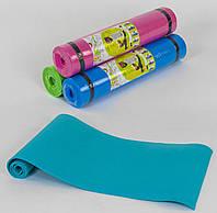 Каремат коврик для йоги С 36548 толщина 6 мм 178*60 см