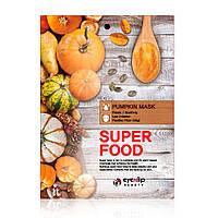 Тканевая маска для лица c тыквой Eyenlip Super Food Pumpkin Mask