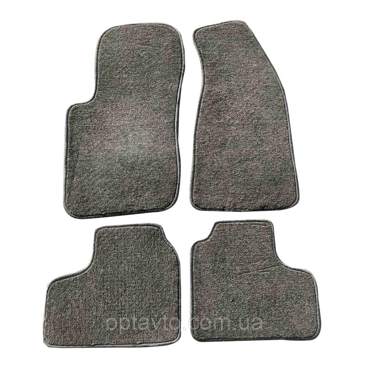 Коврики в салон NIVA Chevrolet (Нива Шевроле). Ворсовые коврики комплект. Цвет серый