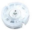 Навес круглый регулируемый D=35мм,L=12мм, прозрачный, F3M