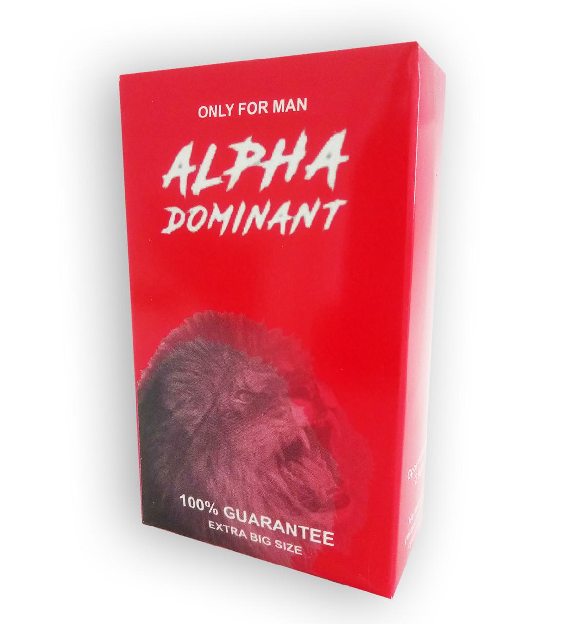 Alpha Dominant - Гель для увеличения члена (Альфа Доминант), повышает потенцию и продлевает половой акт