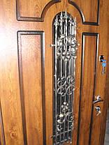 Входная дверь модель П5 217 vinorit-90 КОВКА  +ПАТИНА, фото 3