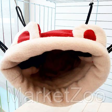 Домик подвесной для морских свинок,крыс,белок дегу,шиншилл, фото 2