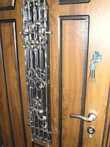 Входная дверь модель П5 217 vinorit-90 КОВКА  +ПАТИНА, фото 2
