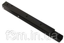 Консоль складывающаяся, с фиксатором, L=400 мм, чёрная, Airtic