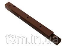 Консоль складывающаяся, с фиксатором, L=400 мм, коричневая, Airtic