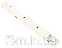 Консоль складывающаяся, с фиксатором, L=400 мм, белая, Airtic