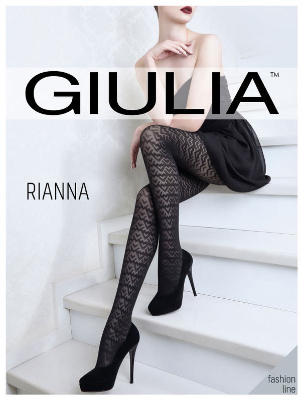 Giulia Rianna 60 Den Model 4 женские фантазийные колготки из микрофибры, все размеры