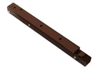 Консоль складывающаяся, с фиксатором, L=300 мм, коричневая, Airtic