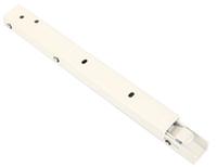 Консоль складывающаяся, с фиксатором, L=300 мм, белая, Airtic