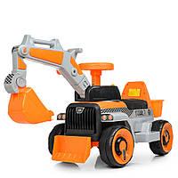 Электромобиль Bambi трактор M 4144L-7 Orange (M 4144L)
