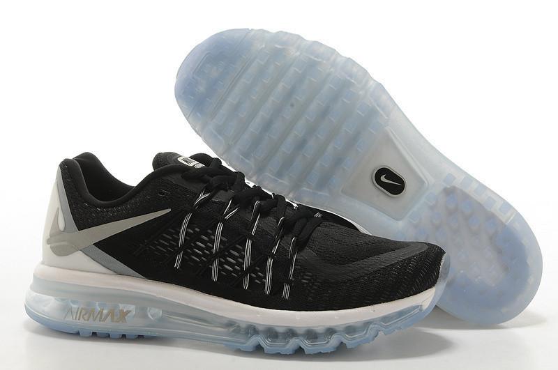 bc1bb20a Мужские кроссовки Nike Air Max 2015 сетка черно-серые: продажа, цена ...