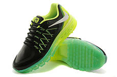 e1277c8a Мужские кроссовки Nike Air Max 2015 кожа бирюзово-салатовые: продажа ...
