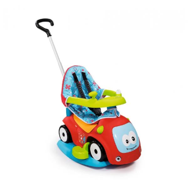 Smoby Машинка-каталка с функцией качели Красная 4 в 1 720400 Maestro Komfort