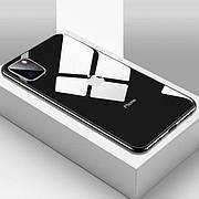 Стеклянный чехол для Iphone 11 Pro Black