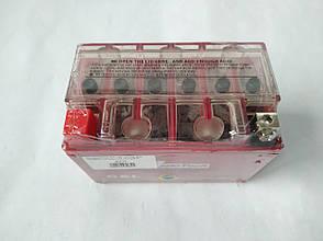Аккумулятор 9A 12V (YTX9-BS) гелевий 150x84x105 Mototech, фото 2