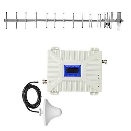 """Комплект 3G/4G репитер усилитель связи 2100/2600 МГц с антенной """"Стрела"""" 15Дб, фото 2"""