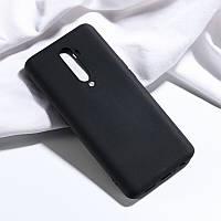 Чехол Soft Touch для Oppo Reno 2 силикон бампер черный