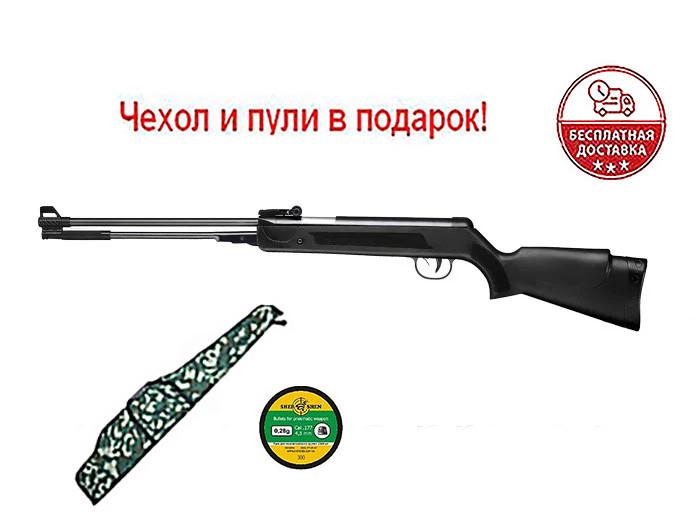 Пневматическая винтовка SPA WF600(P) с газовой пружиной + Чехол и пули в подарок