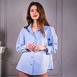 Рубашка SANA голубого, чёрного, белого цвета, размер S-M, M-L