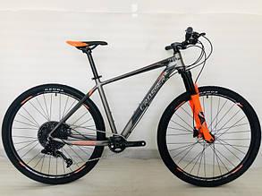 Гірський велосипед 29 дюймів Crosser Solo рама 19 Помаранчевий, фото 2