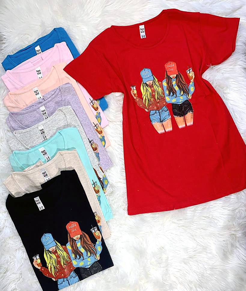 Молодіжна жіноча футболка Туреччина 42-48 (в кольорах)