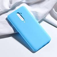 Чехол Soft Touch для Oppo Reno 2 силикон бампер мятно-голубой