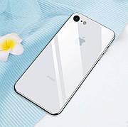 Стеклянный чехол для Iphone 6 / 6s White