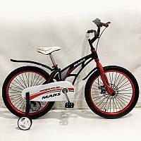 """Детский велосипед SIGMA MARS-20"""", ДИСКОВЫЙ ТОРМОЗ, Black, фото 1"""