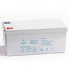 AXIOMA energy Аккумулятор гелевый 200Ач 12В, модель - AX-GEL-200, AXIOMA energy